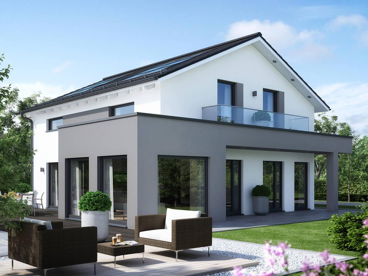 Musterhaus SUNSHINE 165 Ulma von Living Haus