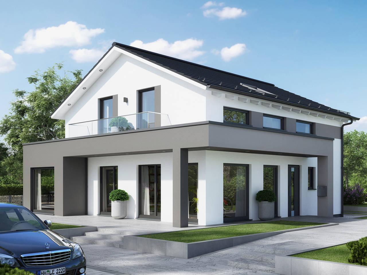 musterhaus sunshine 165 ulm living haus. Black Bedroom Furniture Sets. Home Design Ideas