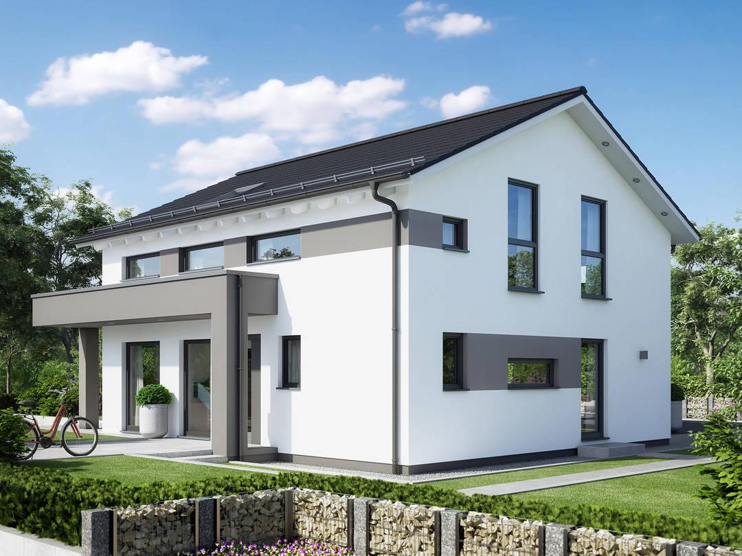 aktionshaus sunshine 165 living fertighaus. Black Bedroom Furniture Sets. Home Design Ideas