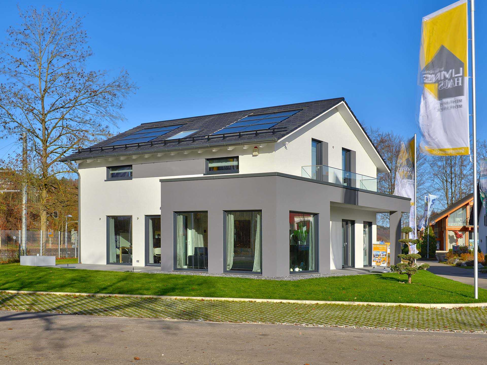 Musterhaus SUNSHINE Ulm - Living Haus | Musterhaus.net