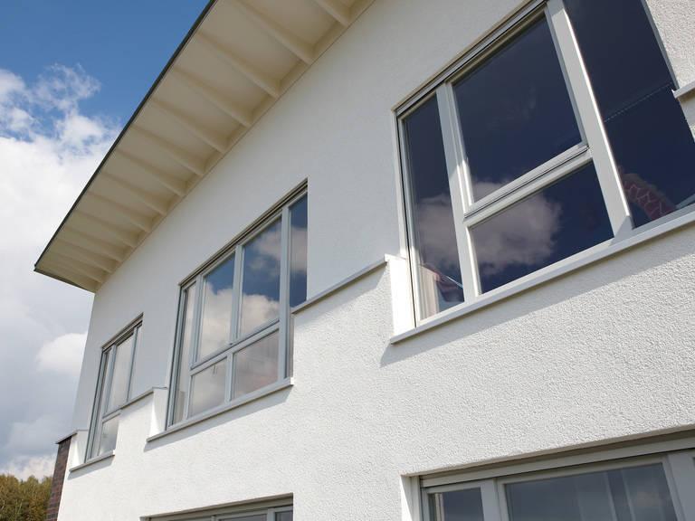 Musterhaus DIana von Gussek Haus - Fensteransicht