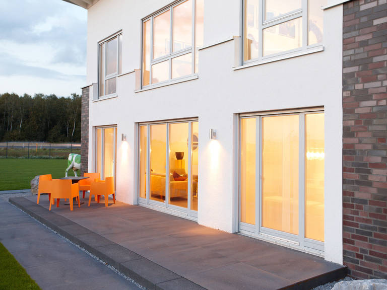 Musterhaus DIana von Gussek Haus - Beleuchtet