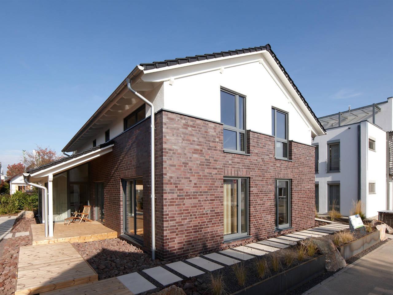 Musterhaus Mila von Gussek Haus - Terrasse