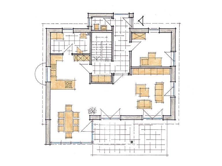 Musterhaus Mila - Grundriss EG
