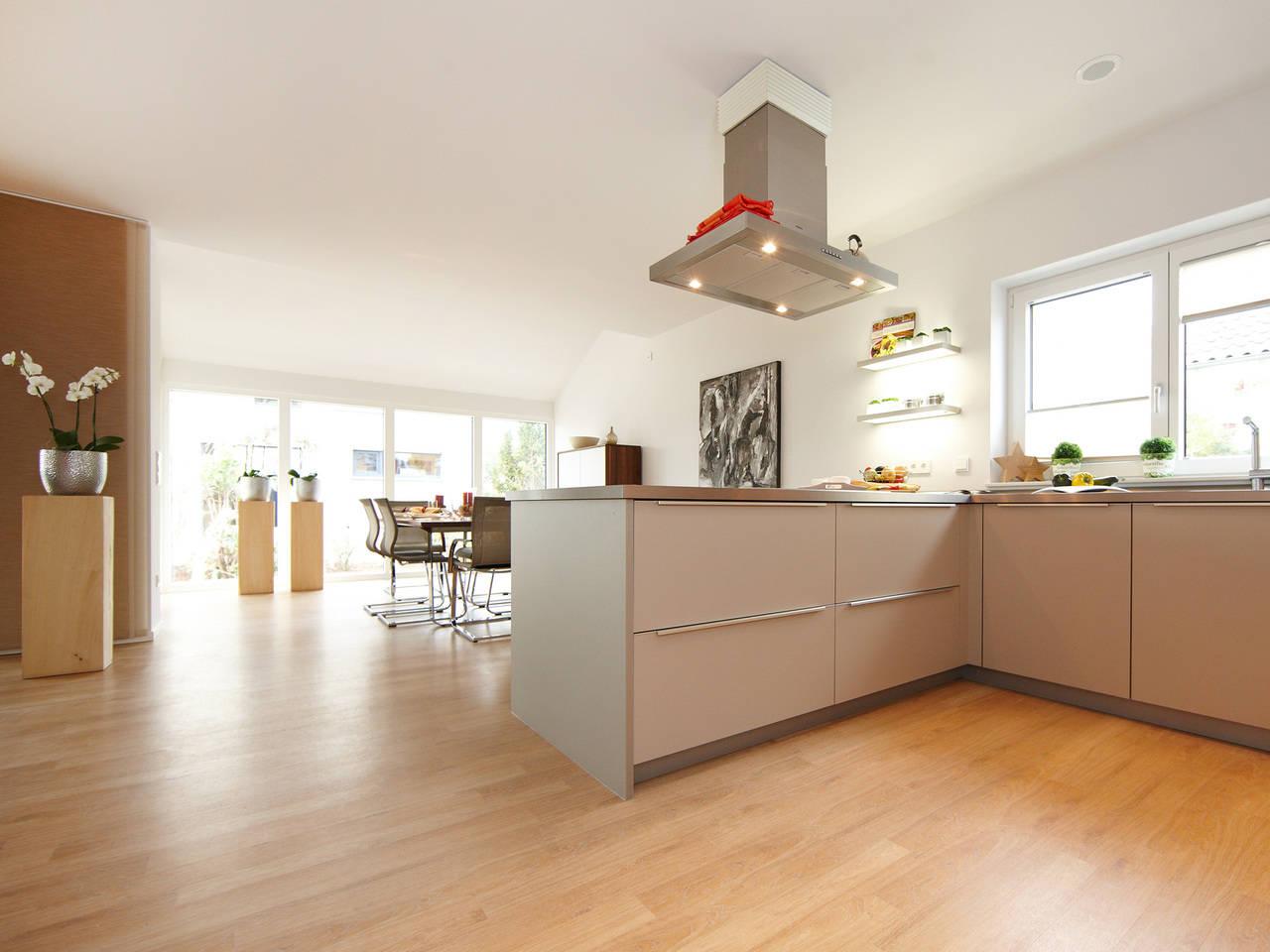 Musterhaus Mila von Gussek Haus - Küche