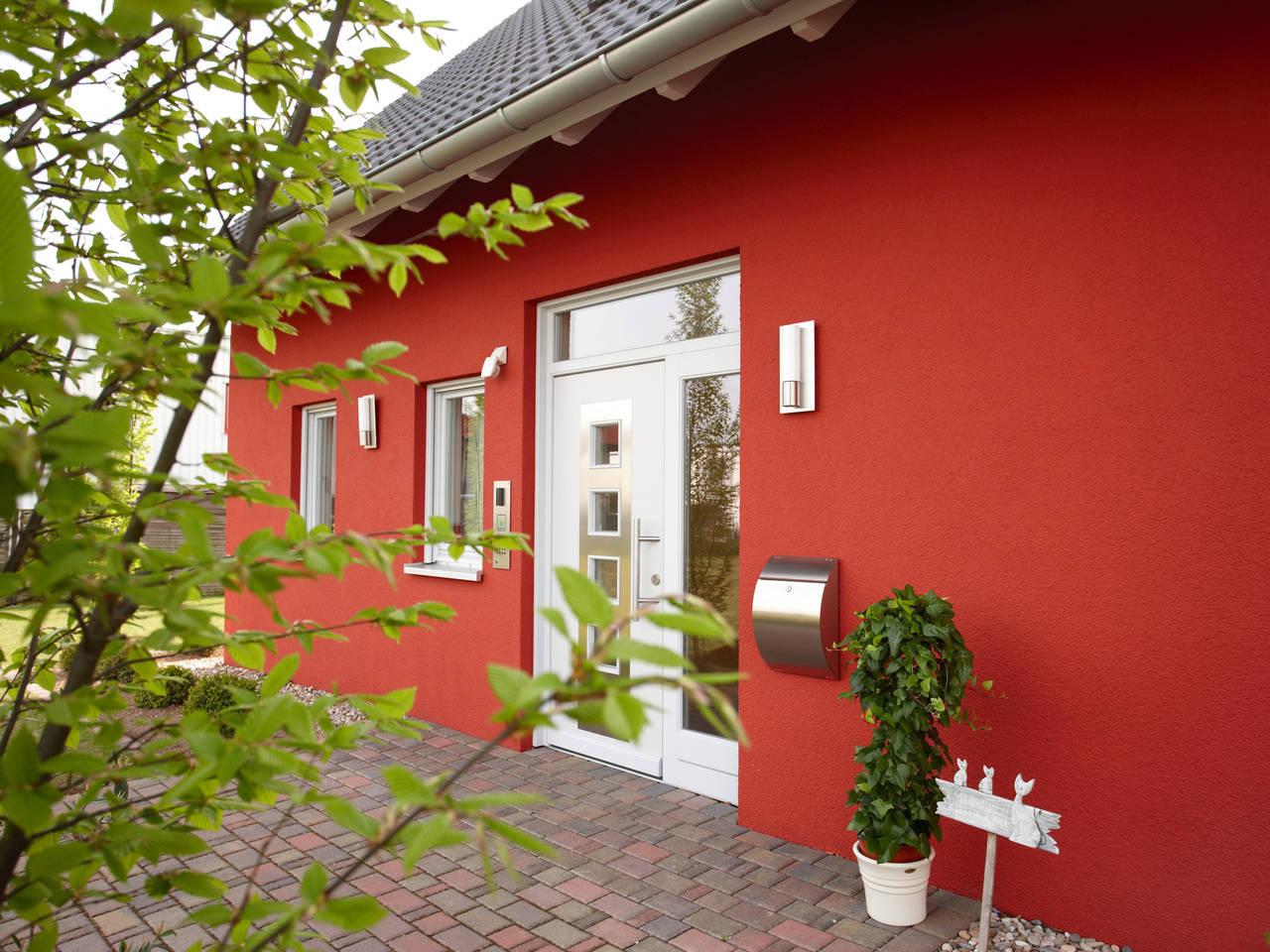 Musterhaus Evita von Gussek Haus  - Eingangsbereich