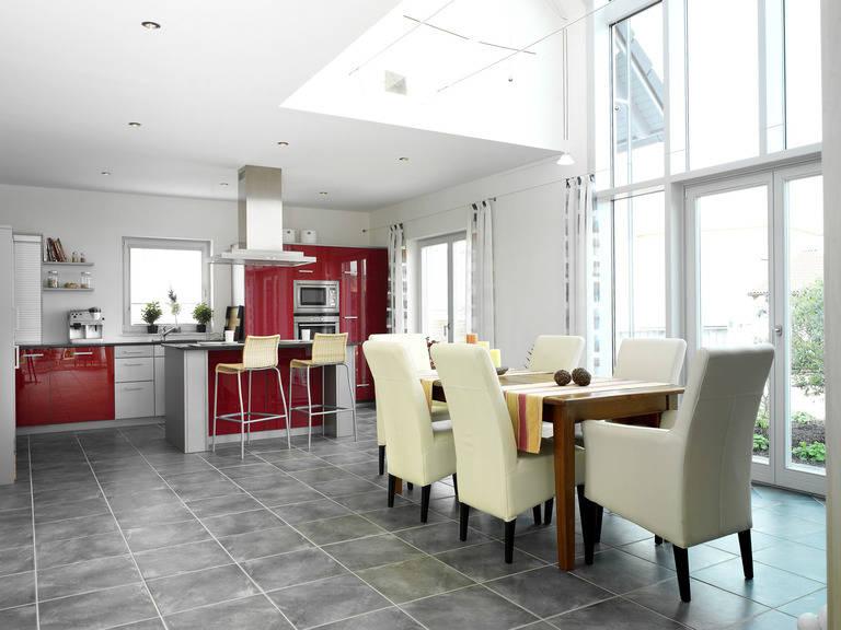 Musterhaus Evita von Gussek Haus - Küche