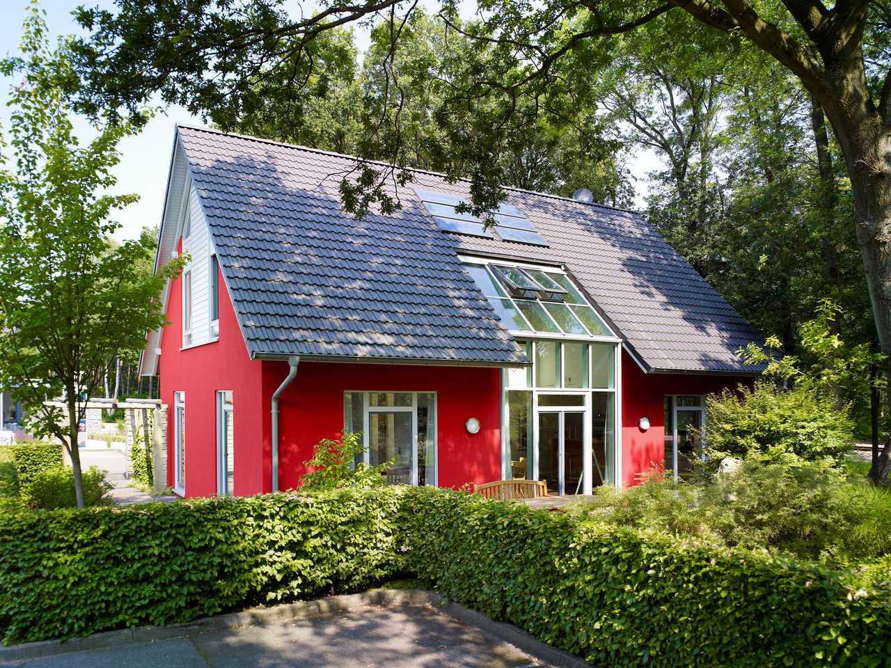 Musterhaus Svenja von Gussek Haus - Aussenansicht