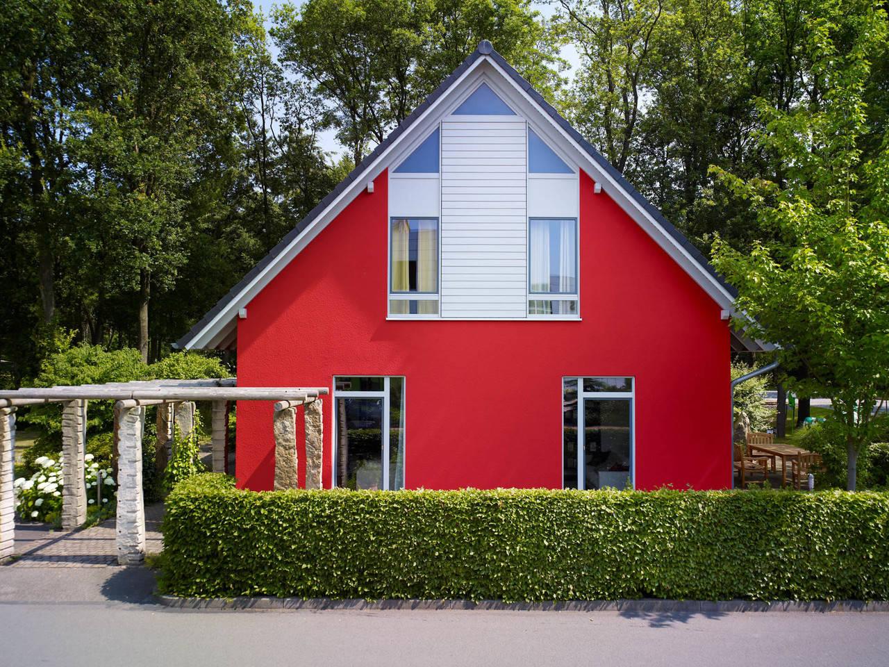 Musterhaus Svenja von Gussek Haus - Frontansicht