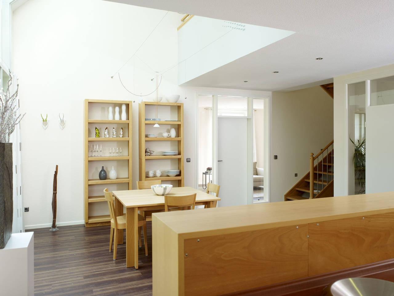 Musterhaus Svenja von Gussek Haus - Wohnbereich