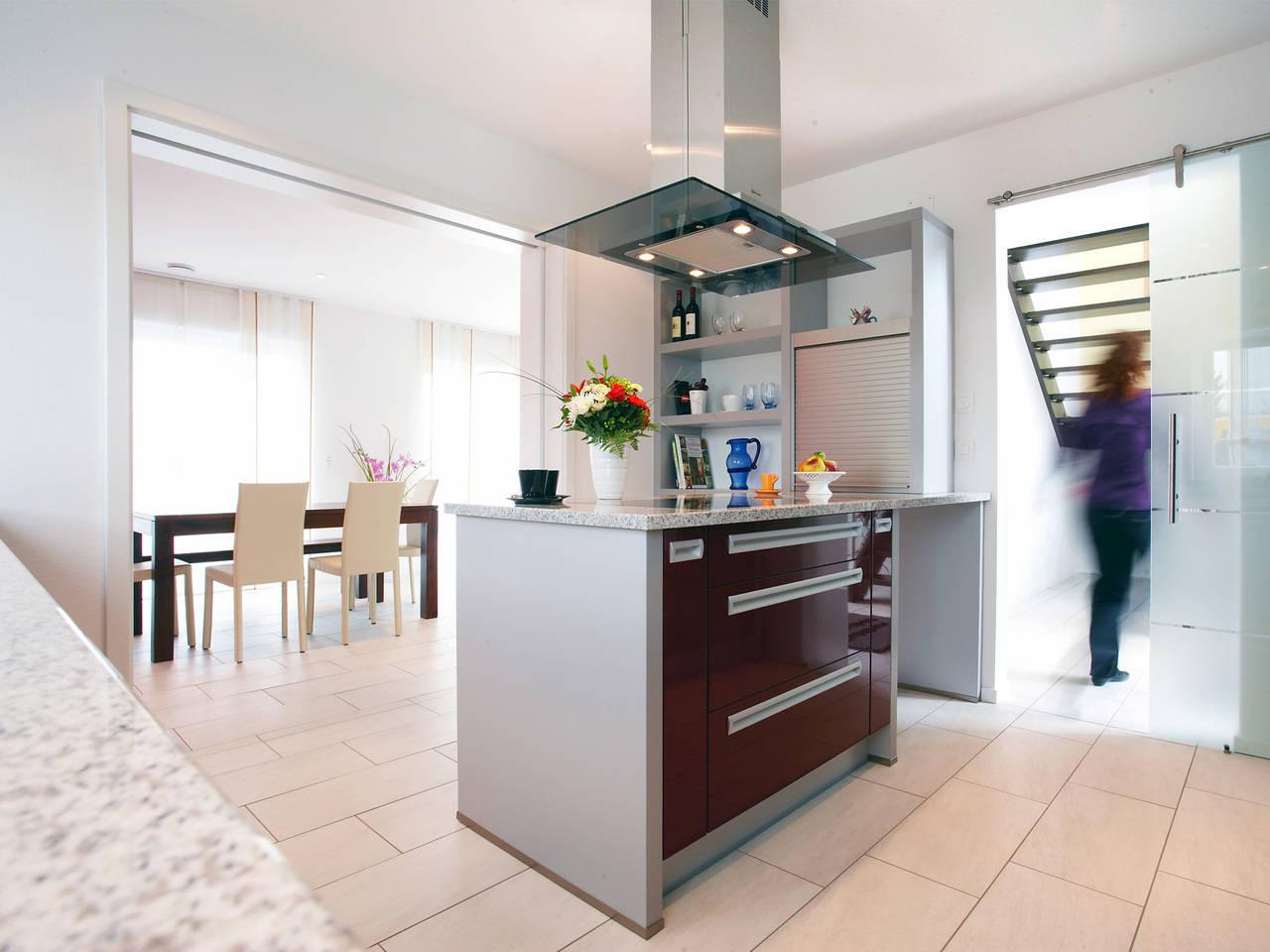 Musterhaus Kaiseraugst von Gussek Haus - Ansicht Küche