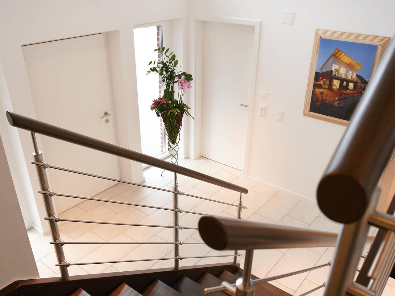 Musterhaus Kaiseraugst von Gussek Haus - Treppenhaus