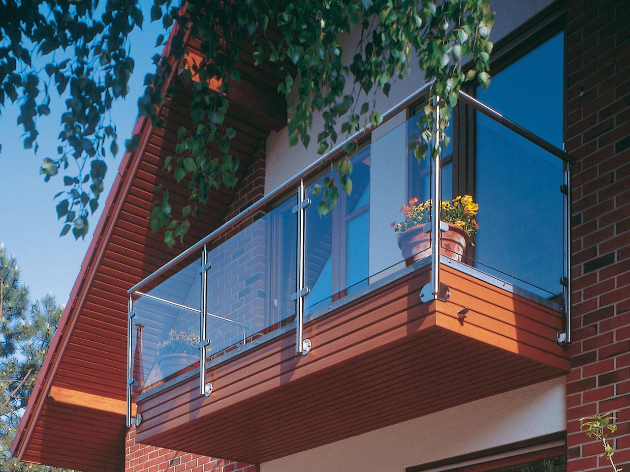 Musterhaus Sabrina von Gussek Haus - Ansicht Balkon