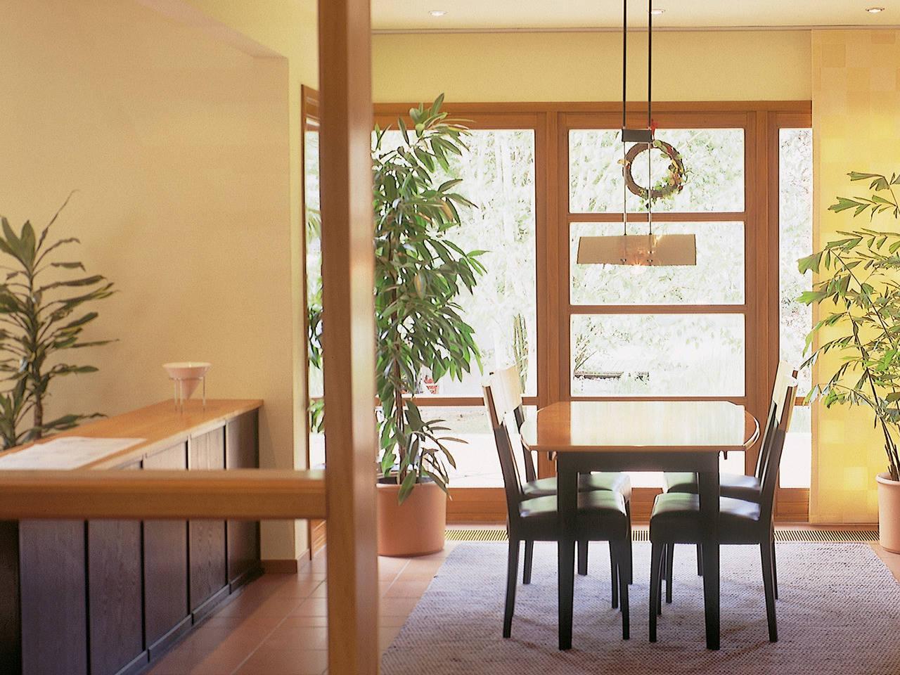Musterhaus Sabrina von Gussek Haus - Ansicht Wohnbereich