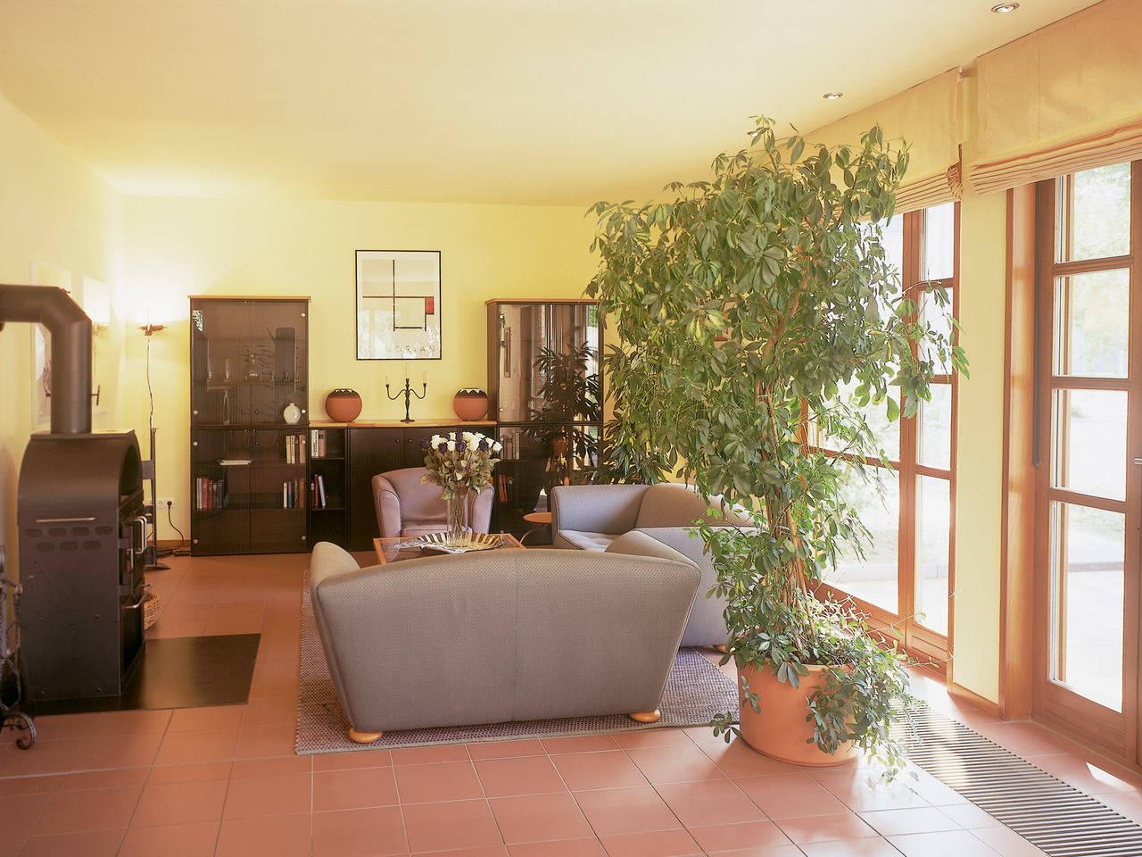 Musterhaus Sabrina von Gussek Haus - Ansicht Wohnzimmer