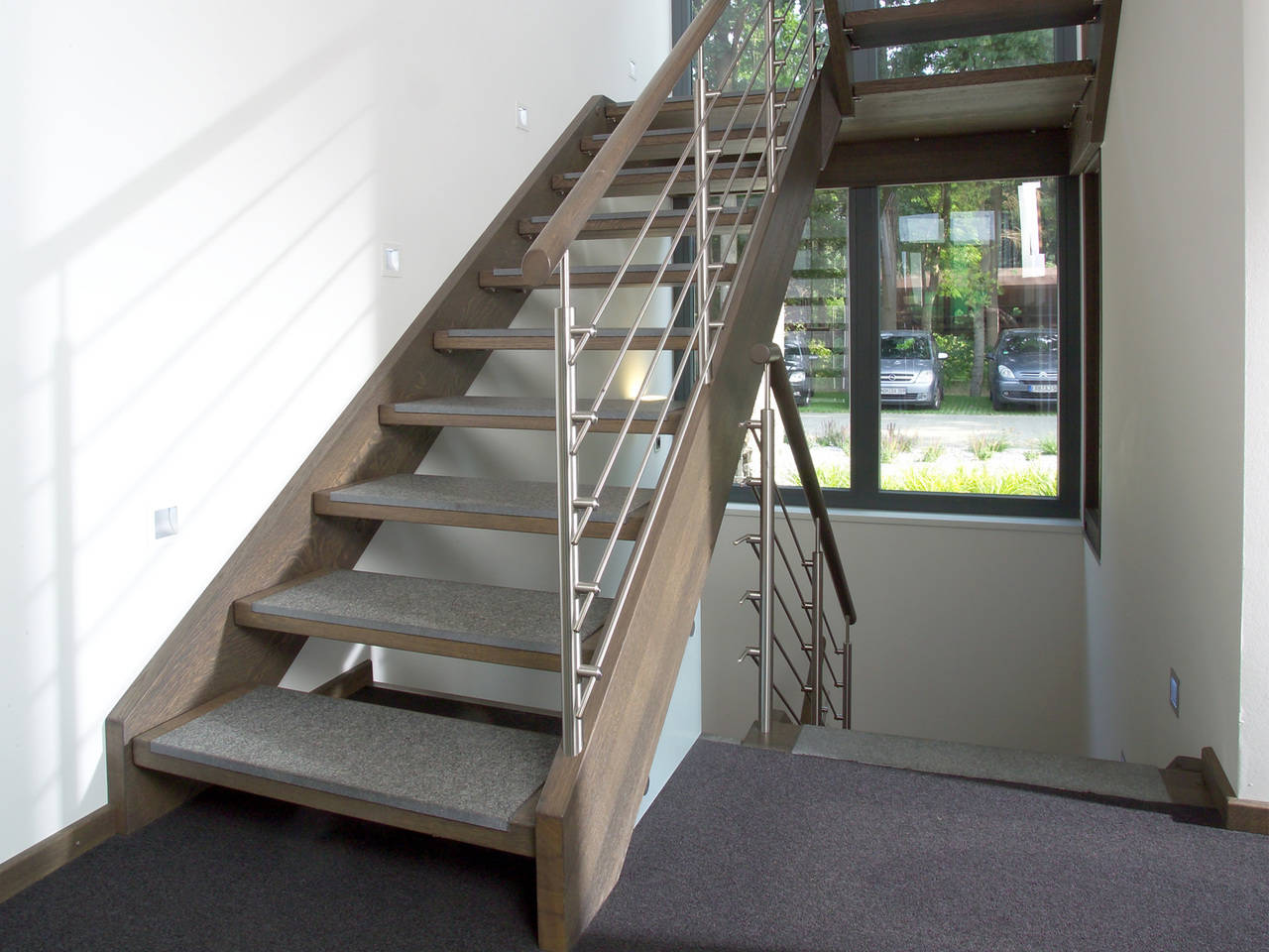 Musterhaus Aida von Gussek Haus - Treppenhaus