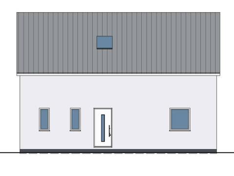 Haus Benita von W. Leberer Massivbau - Zeichnung