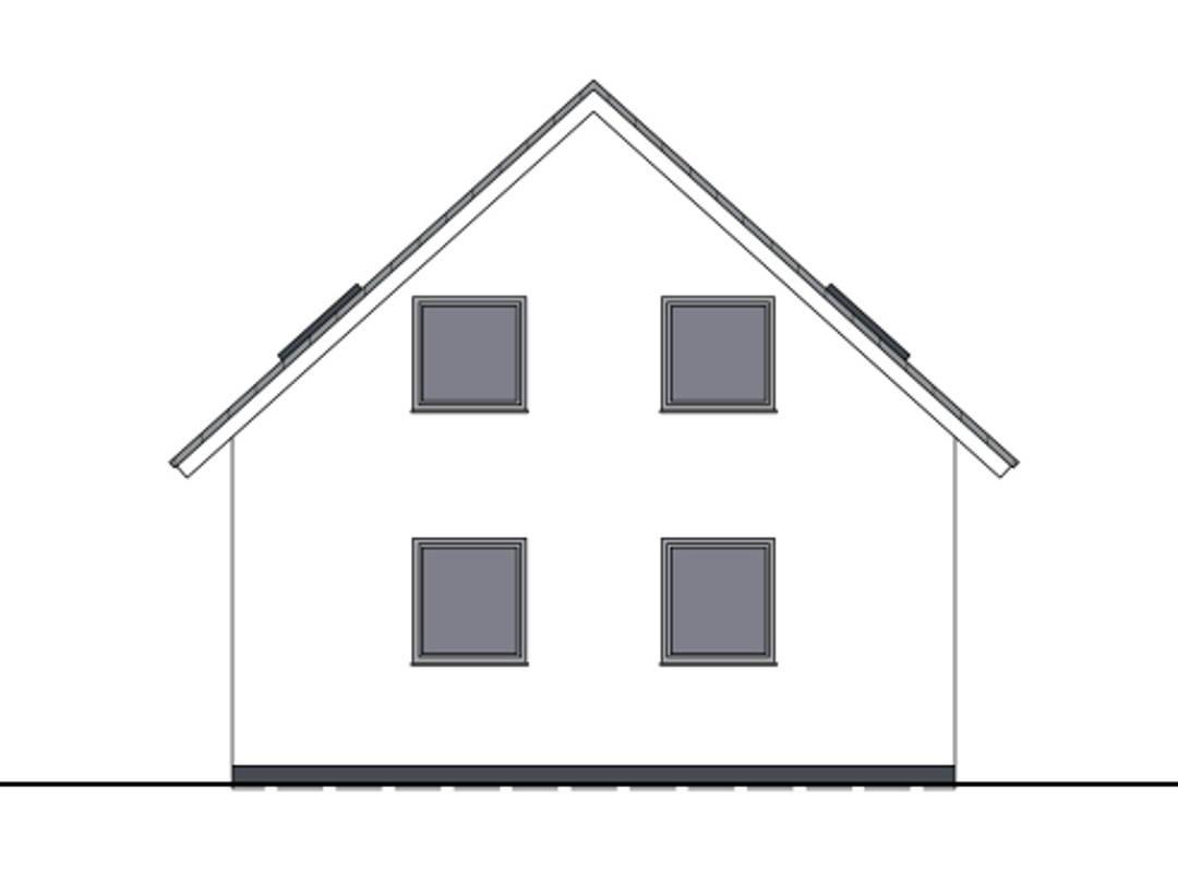 Haus Bonnie von W. Leberer Massivbau - Zeichnung
