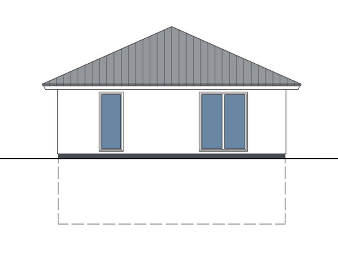 Haus Charlotte von W. Leberer Massivbau - Zeichnung