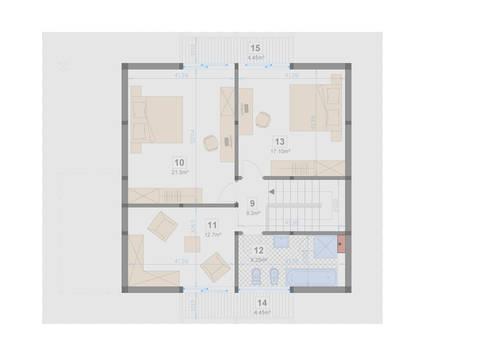 Familienhaus 140 von Designo Haus - Grundriss DG