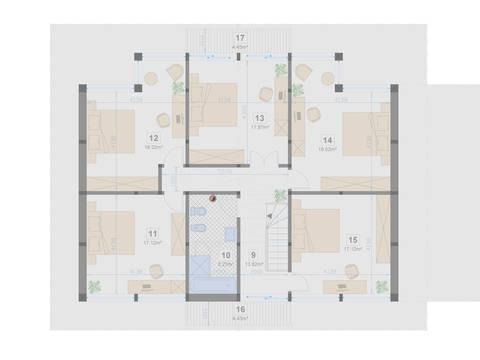 Familienhaus 220 von Designo Haus - Grundriss DG