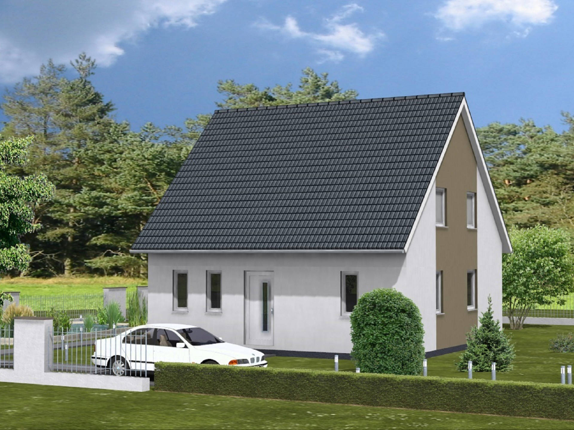 Haus Felix Leberer Massivbau Musterhaus Net