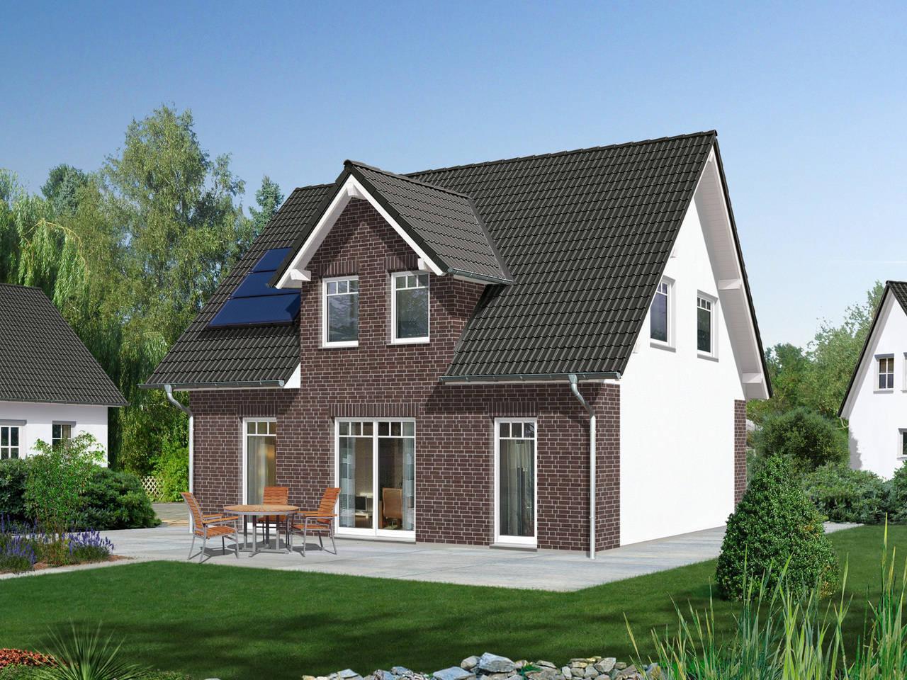 Haus Flair 113 Klinkerriemchen von Bauprojektierung Meyer - Town & Country