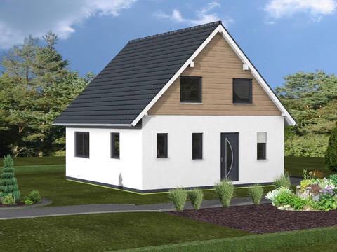 Haus Lea von W. Leberer Massivbau Ansicht Front