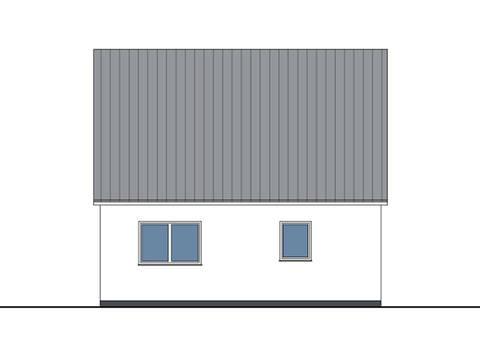 Zeichnung Seite Haus Lea von W. Leberer Massivbau