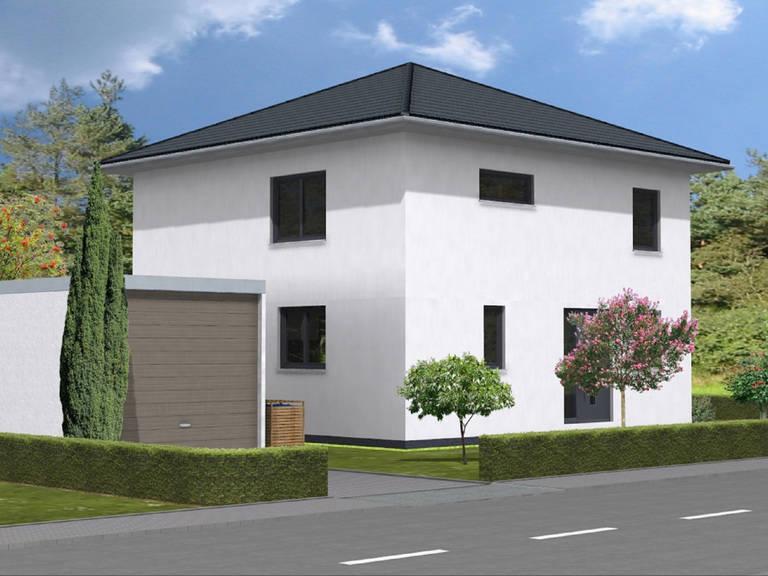 Haus Leon von W. Leberer Massivbau Ansicht