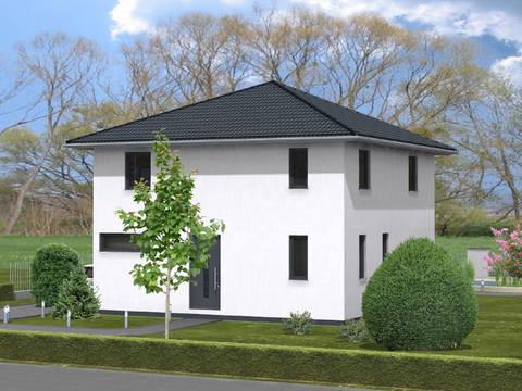 Haus Leon von W. Leberer Massivbau Ansicht Garten 1