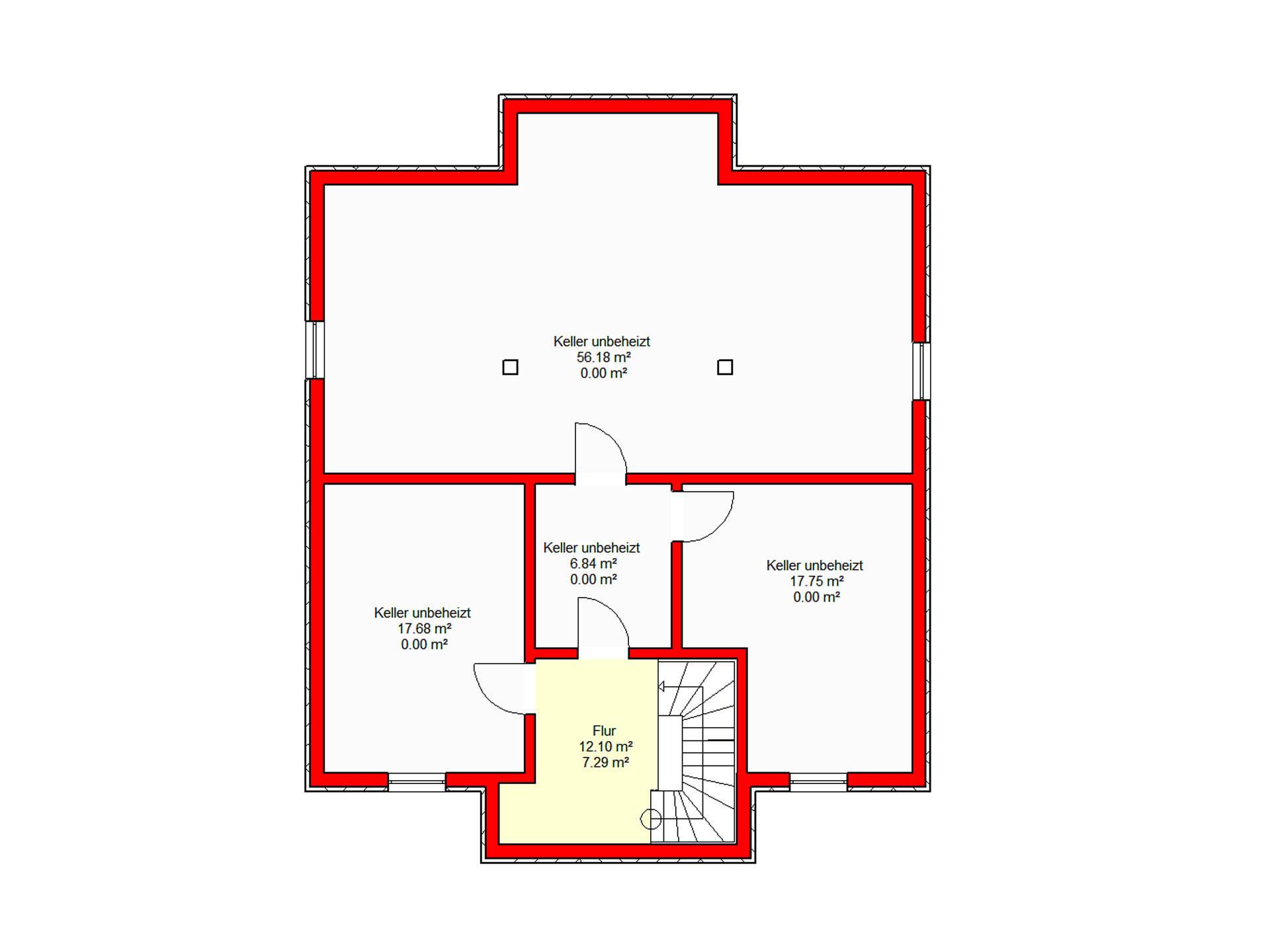 Stadtvilla Königstein 206 von B.I.F.-Konzepte Grundriss KG