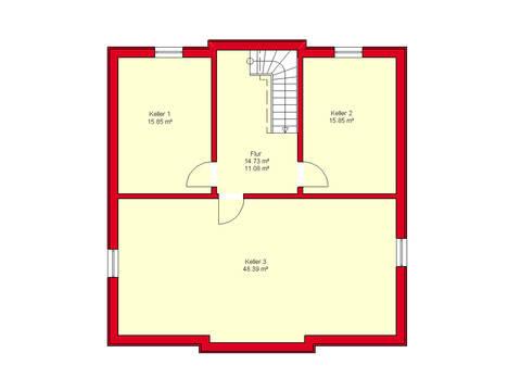 Haus Würzburg 171 von B.I.F.-Konzepte Grundriss KG