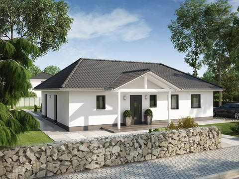 Bauidee Bungalow Ideal 2000.2