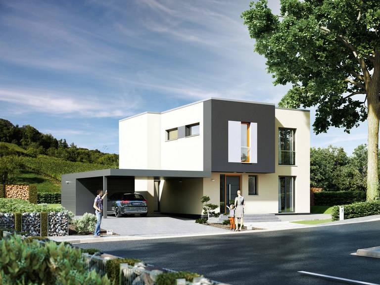 Haus Avantgarde 141 Rötzer Ziegel Element Haus