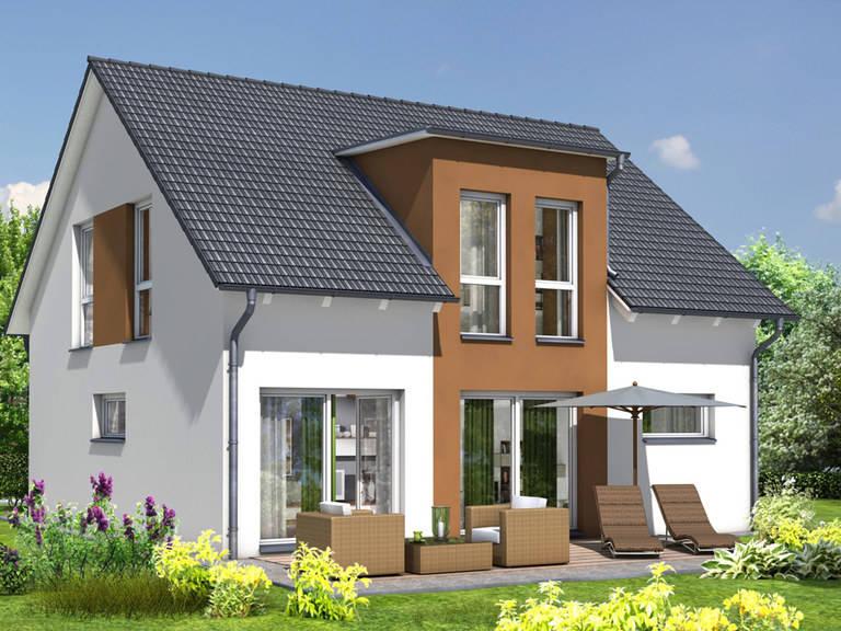 Haus Simply Clever Mainfranken Rötzer Ziegel Element Haus