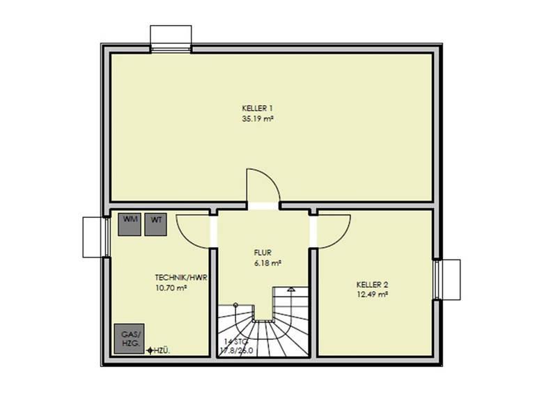Grundriss Keller Haus Simply Clever Mainfranken Rötzer Ziegel Element Haus