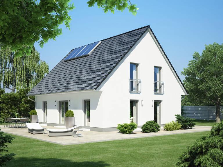 Einfamilienhaus Klassik 1000.2 von Bauidee