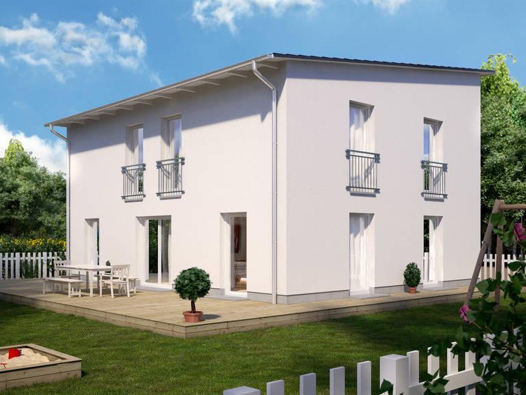 Bauidee Stadtvilla Modern 1000.2