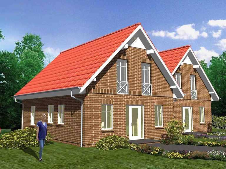 Doppelhaus Azalee - ideal-heim-bau