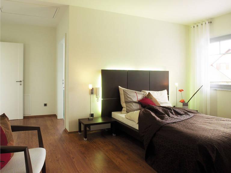 Bungalow 133 - HANSE-HAUS Schlafzimmer