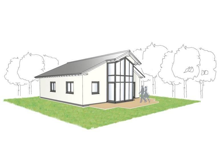 Bungalow Campus 90 Zeichnung von Partner-Haus