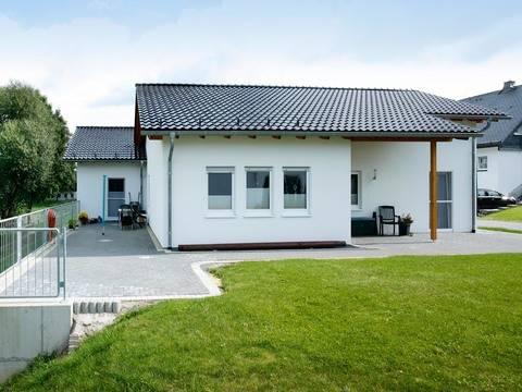 Bungalow Campus 100 Terrasse von Partner-Haus