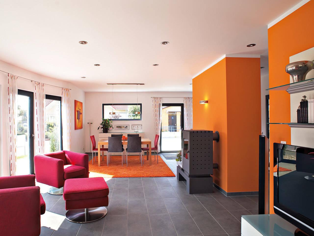 Hanse Haus Variant 170 Wohnbereich