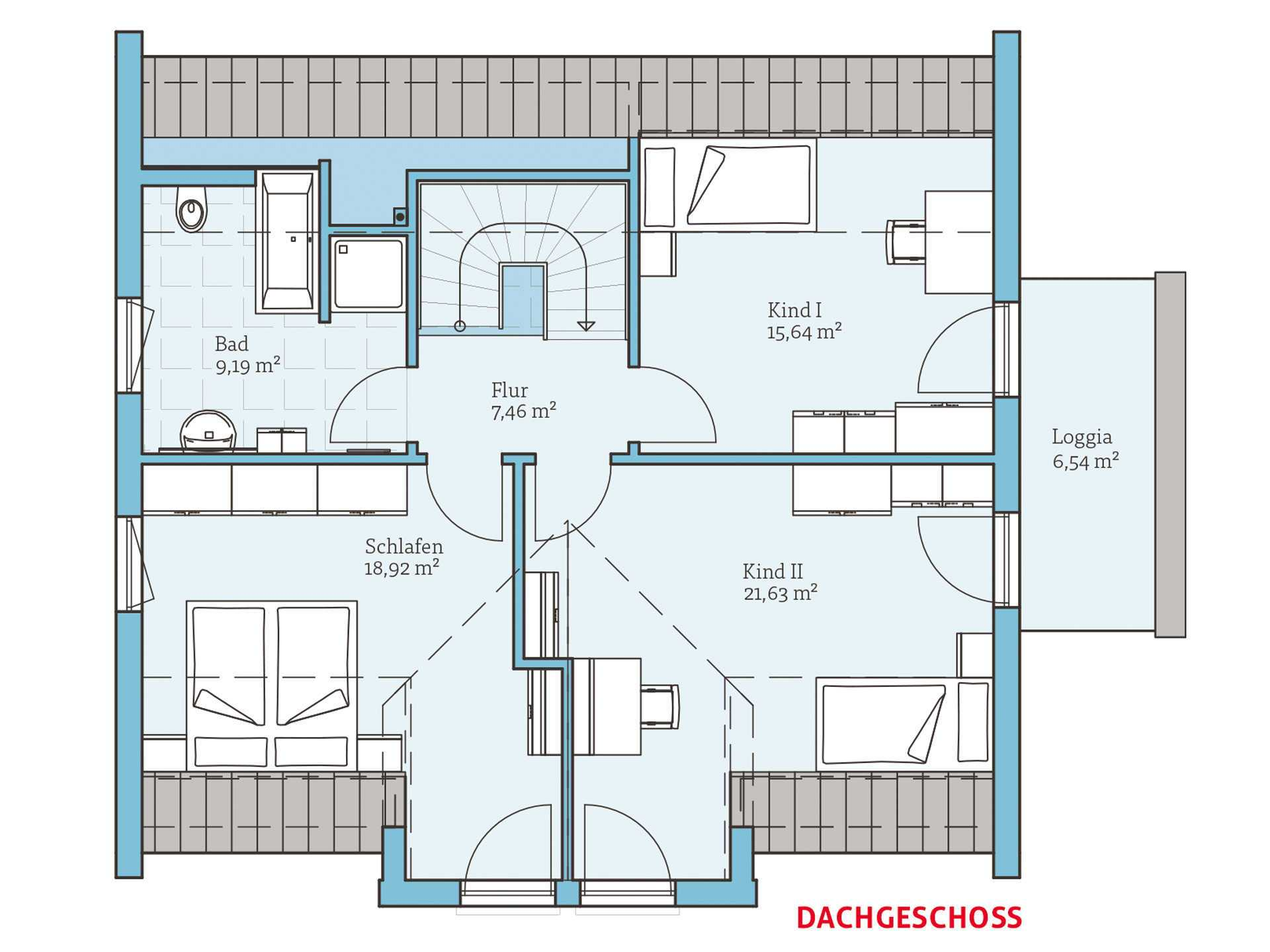 variant 172 hanse haus. Black Bedroom Furniture Sets. Home Design Ideas