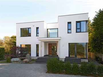 Bauhaus Jackson Aussenansicht von Baufritz