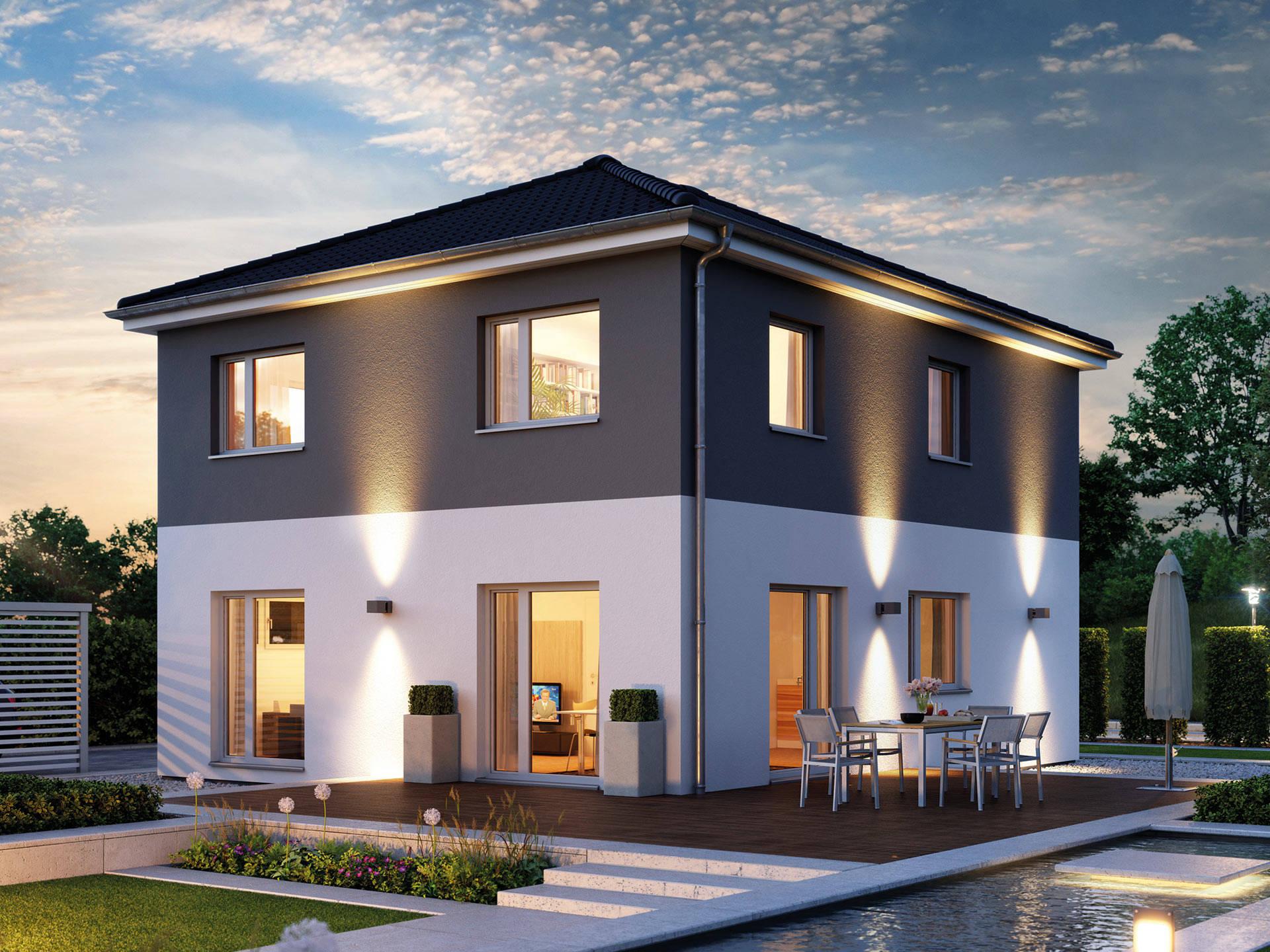 Villa 133 hanse haus for Haus bauen villa