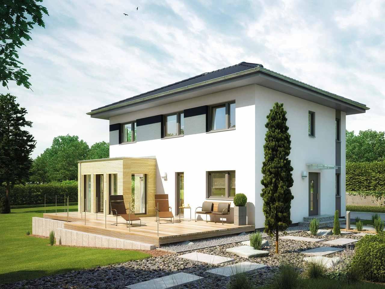 villa 142 hanse haus. Black Bedroom Furniture Sets. Home Design Ideas