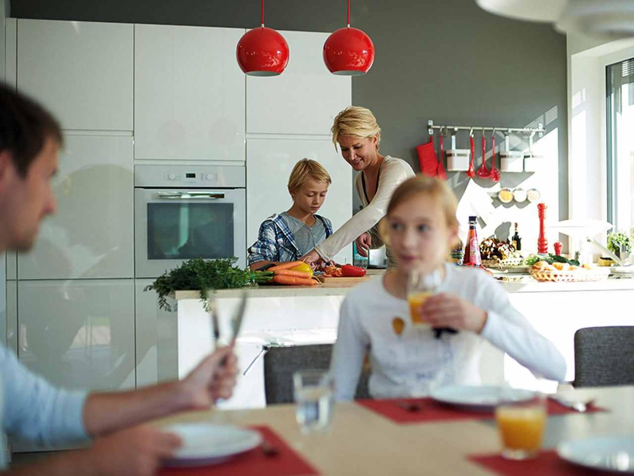 Hanse Haus Villa 142 Küche
