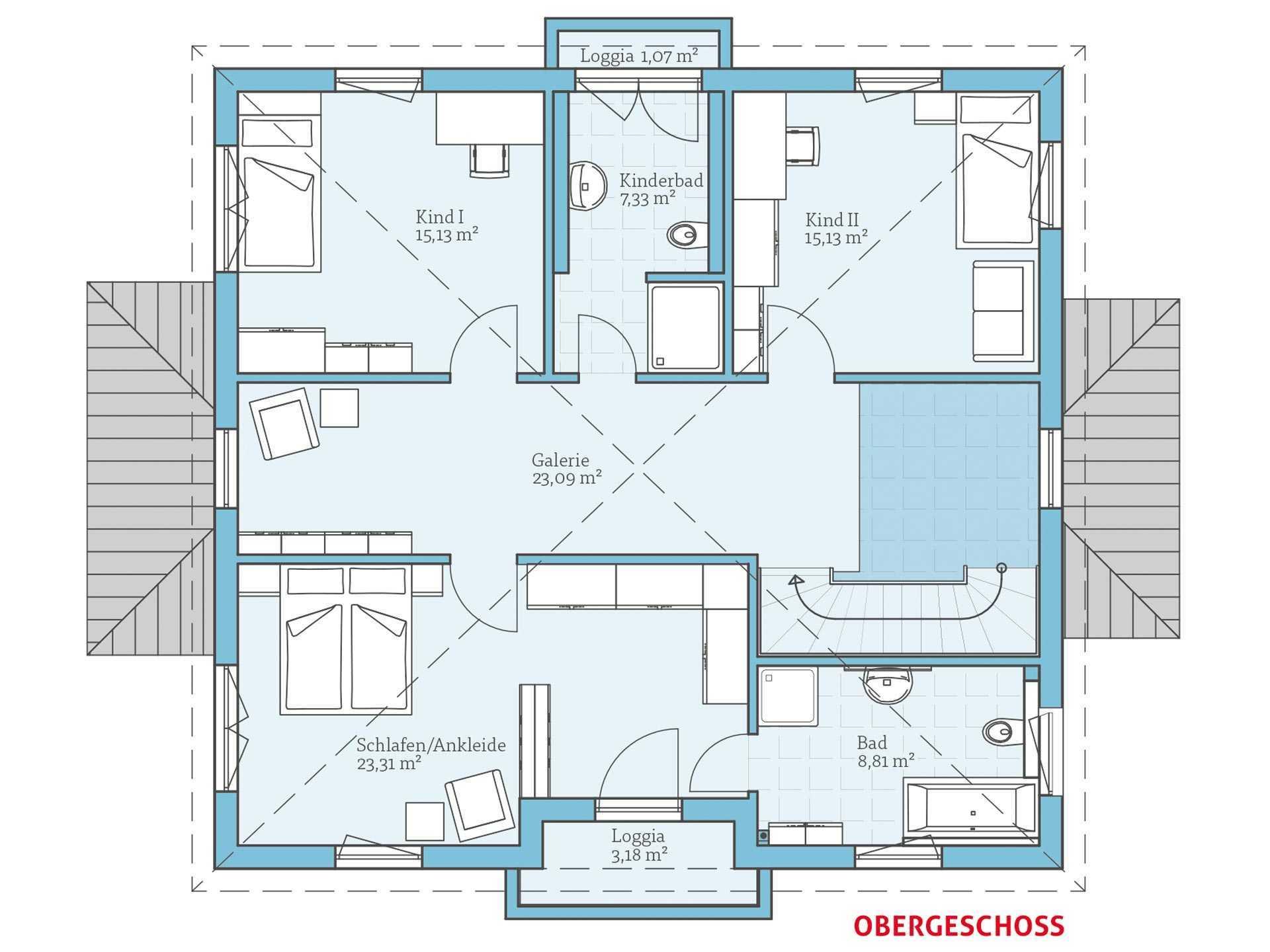 villa 207 hanse haus. Black Bedroom Furniture Sets. Home Design Ideas